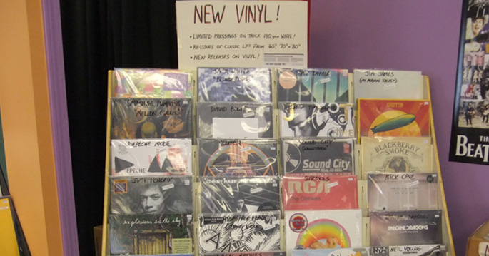 New Vinyl Shipment In Today Fantasyland Records