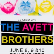 Would you like to go see the AVETT BROTHERS at the Fox Theatre on Thursday June 8th??