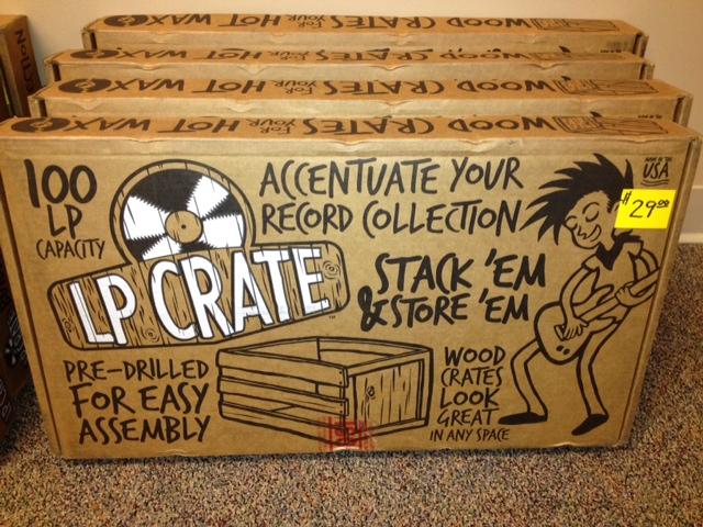 We Now Carry Wooden Lp Vinyl Record Album Crates Fantasyland